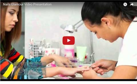 nails glamour video presentation