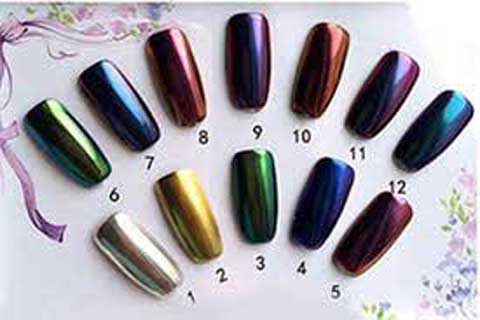 Chrome Nails Colors Available